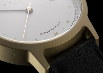 """Optimiste"" from Vasco watch collection. Close up."